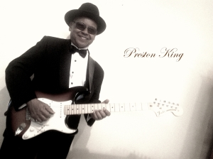 Preston King, bow-tie & Guitar 4b
