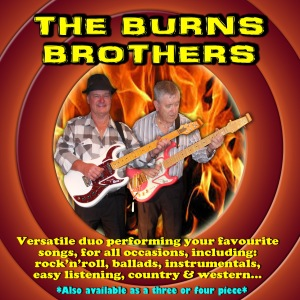CD Front Cover - BurnsBrothers